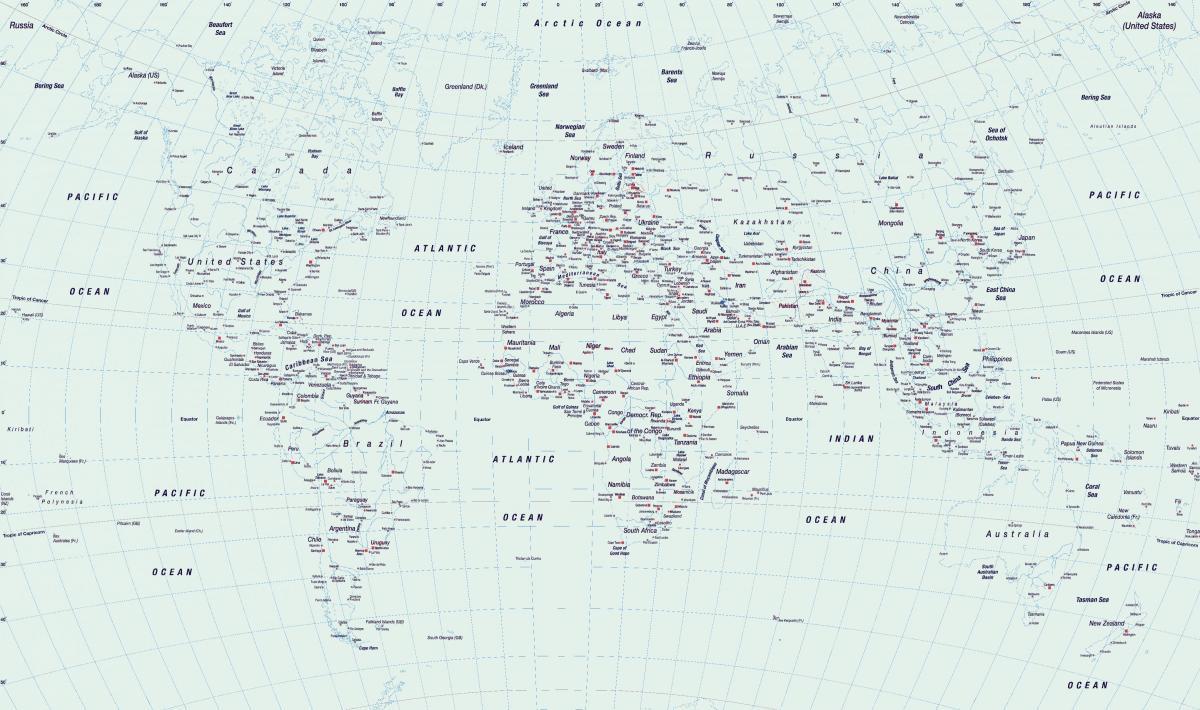 Prager Weltkarte Prag Auf Der Weltkarte Anzeigen Bohmen